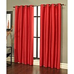 Sherry Kline Faux Silk Grommet Top Window Curtain Panels (Set of 2)