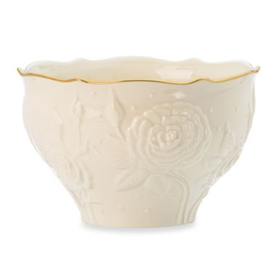 Lenox® Ivory Rose Treat Bowl