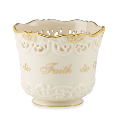 Lenox® Inspirational Faith Votive Holder