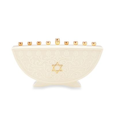 Judaica Blessings Menorah
