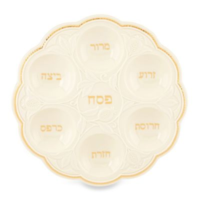 Lenox® Judaica Blessings Seder Plate