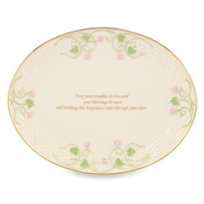 Lenox® Shamrock Wishes Friendship Tray