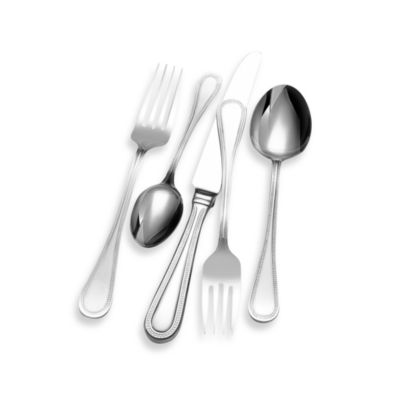 Wallace Continental Bead 65-Piece Flatware Set