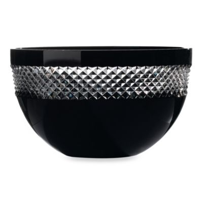 John Rocha at Waterford Black Cut Collection 10-Inch Bowl