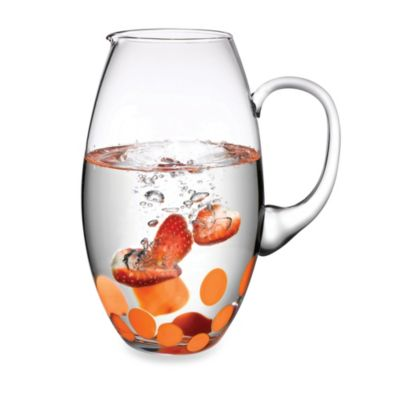 Fresh 70-Ounce Pitcher with Coral Design