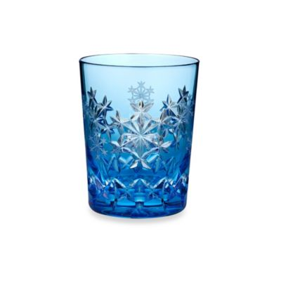 Waterford® Snowflake Wishes 3rd Edition Goodwill Kerry Prestige Double Old Fashioned in Light Blue