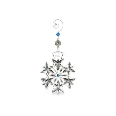 Waterford® Snowflake 2013 Goodwill Wishes Ornament