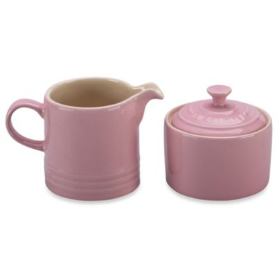 Le Creuset® 8-Ounce Cream & Sugar Set in Pink