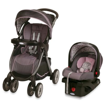 Graco® FastAction™ Fold Click Connect™ Travel System in Jazmin™