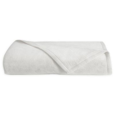 Downtown Company Granny Twin Blanket in White