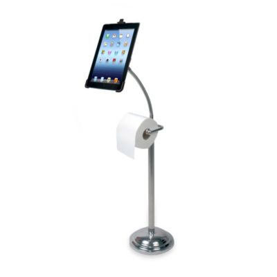 CTA Digital Pedestal Stand for iPad with Optional Roll Stand