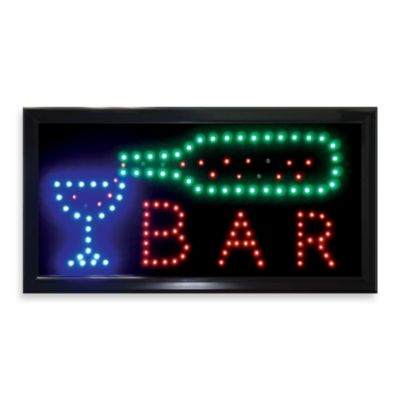 "LED ""Bar"" Wall Art"