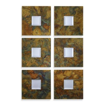 Uttermost Ambrosia Square Mirrors (Set of 2)