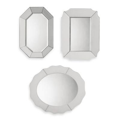 Uttermost Bianco Frameless Mirrors (Set of 3)