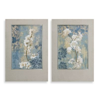 "Uttermost ""Blossoms"" Framed Art (Set of 2)"