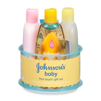 Johnson & Johnson Baby's First Touch Gift Set