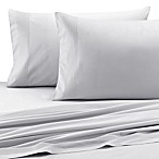 Barbara Barry® Pintuck Fountain Sateen Fitted Sheet in White
