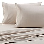 Barbara Barry® Perfect Pleat Fitted Sheet in Silver Birch