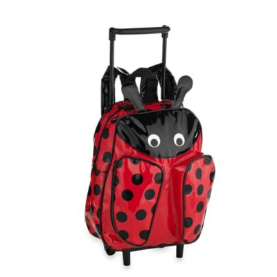 Kids Pull-Along Ladybug Trolley and Backpack