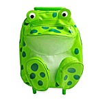 Kids Pull-Along Frog Trolley and Backpack