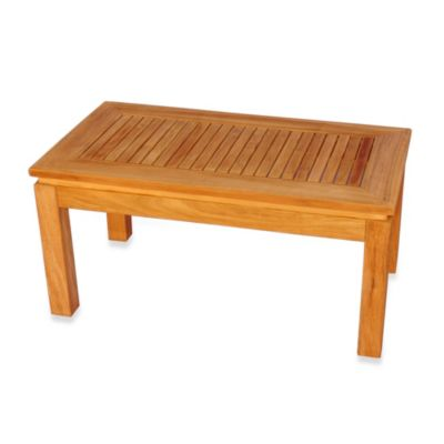 Teak Rectangular Coffee Table