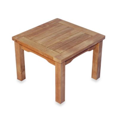 Teak Square Tables