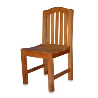Teak Aquinah Dining Side Chair