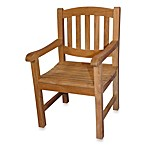 Teak Boston Oval Back Dining Chair