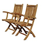 Teak Rockport Folding Dining Chair