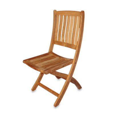 Teak Providence Folding Dining Chair