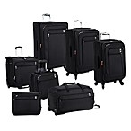 DELSEY Helium Sky Expandable Spinner Trolley Collection in Black