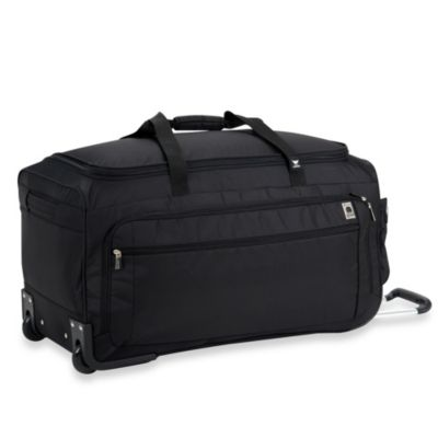 Delsey Helium Sky 28-Inch Spinner Trolley Duffel in Black