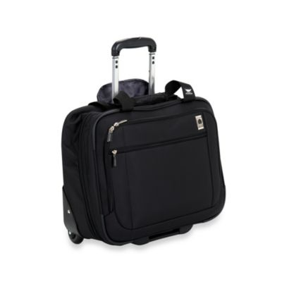 Delsey Helium Sky Spinner Trolley Tote in Black