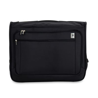 DELSEY Helium Sky 42-Inch Book Opening Garment Bag in Black