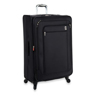 DELSEY Helium Sky 29-Inch Expandable Spinner Suiter Trolley in Black