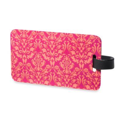 Luggage Tag 2-Pack in Pink/Orange