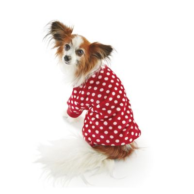 Pet Red Polka Dot Pajamas