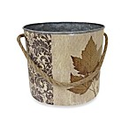 Maple Leaf Vintage Lodge Paint Can with Jute Handle-Medium