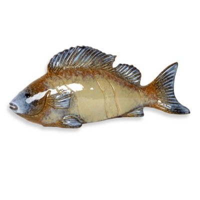 Urban Trends Collection 15-Inch Ceramic Fish