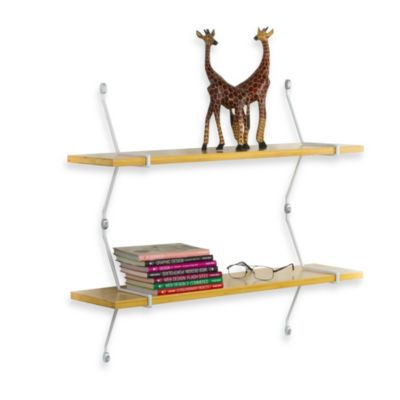 ASSA-Design Double Bamboo Shelf Kit