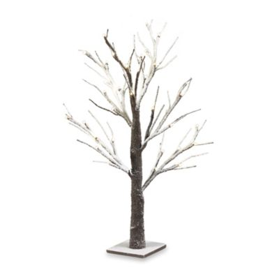 Loft Living 2-Foot Snow Tree LED