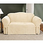 Sure Fit® Soft Suede Sofa Furniture Cover