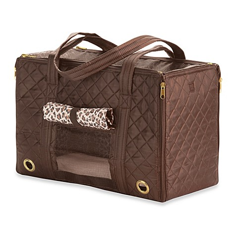 Sherpa® Park Small Pet Tote in Leopard Brown