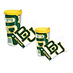 Tervis® Baylor University Wrap Tumblers with Yellow Lid