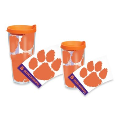 Tervis® Clemson Tigers 16-Ounce Wrap Tumbler with Orange Lid