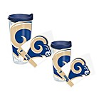 Tervis® Saint Louis Rams Wrap Tumbler with Blue Lid