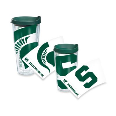 Tervis® Michigan State University 24-Ounce Wrap Tumbler with Green Lid