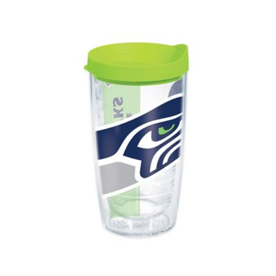 Tervis® Seattle Seahawks 16-Ounce Wrap Tumbler with Green Lid