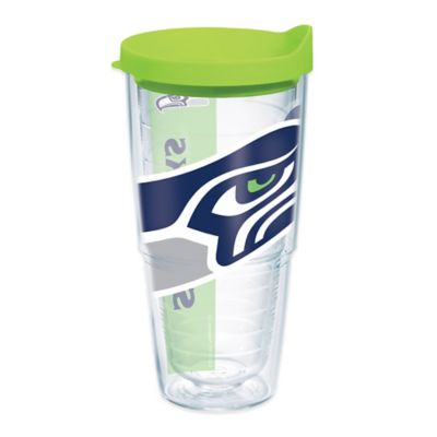 Tervis® Seattle Seahawks 24-Ounce Wrap Tumbler with Green Lid