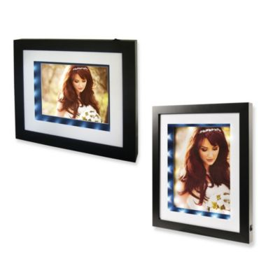 Nielsen Bainbridge Black Illuminated Photo Frame
